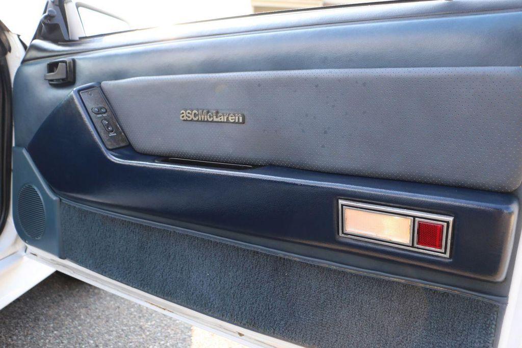 1987 Ford Mustang McLaren - 12362974 - 60