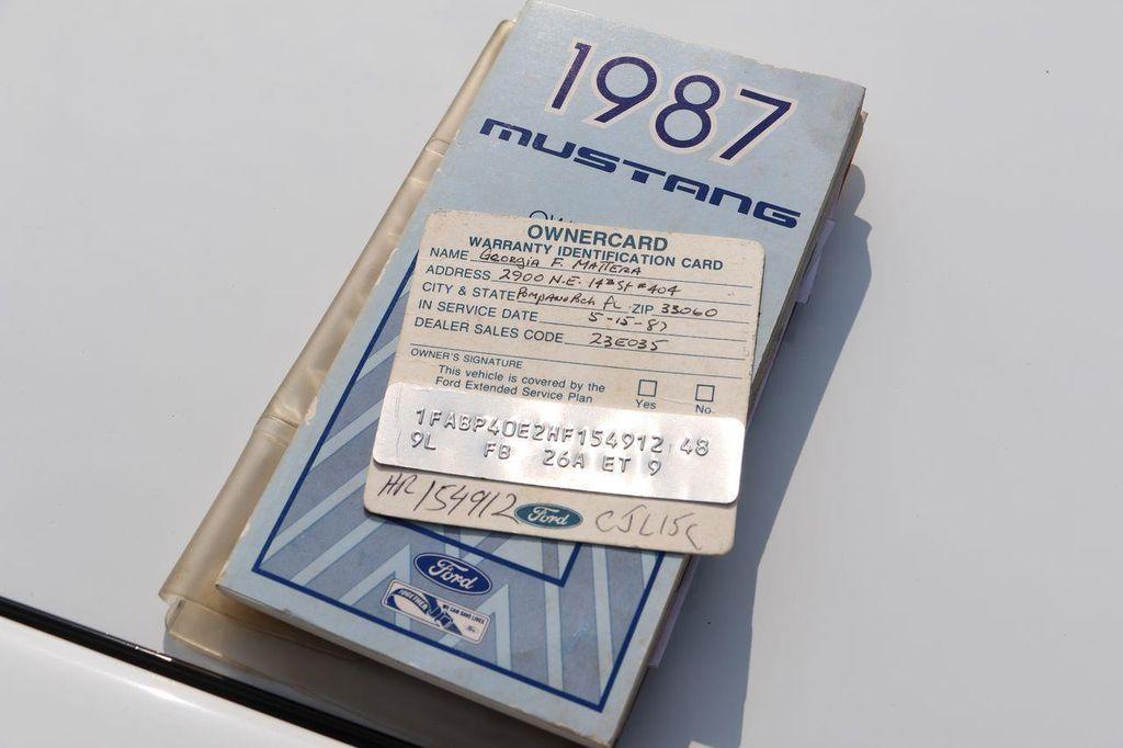 1987 Ford Mustang McLaren - 12362974 - 85