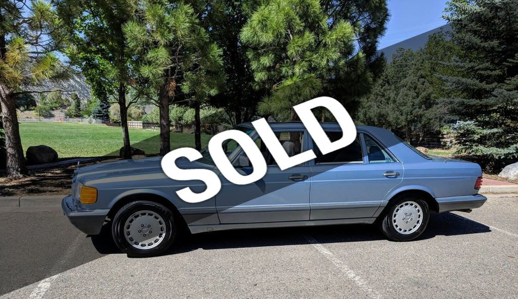 1987 Used Mercedes Benz 420 Sel At Webe Autos Serving Long