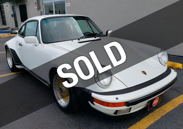 1987 Porsche 911 Turbo Turbo