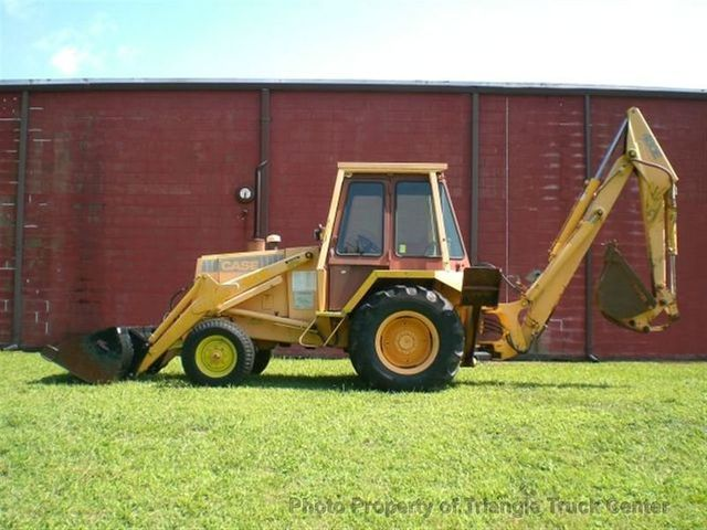 1988 Used Case Backhoe Loader 480e Only 1729 Hrs One
