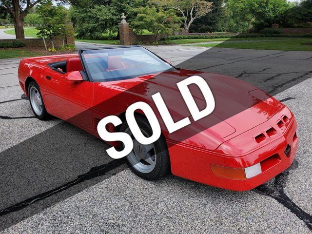 Callaway Corvette For Sale >> 1988 Chevrolet Corvette Callaway Twin Turbo Convertible For Sale Riverhead Ny 54 995 Motorcar Com