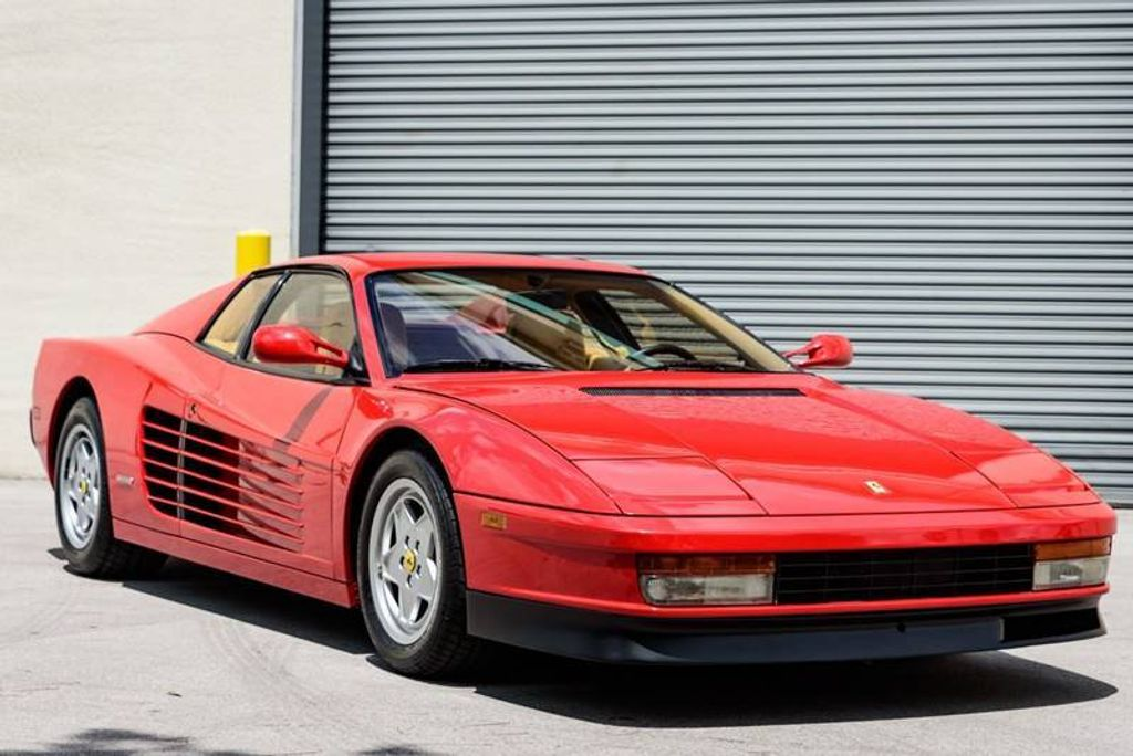sale cars chrome for g ferrari red classic testarossa