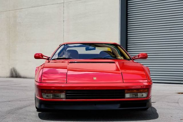 1988 Ferrari Testarossa Not Specified For Sale Miami Fl 119000