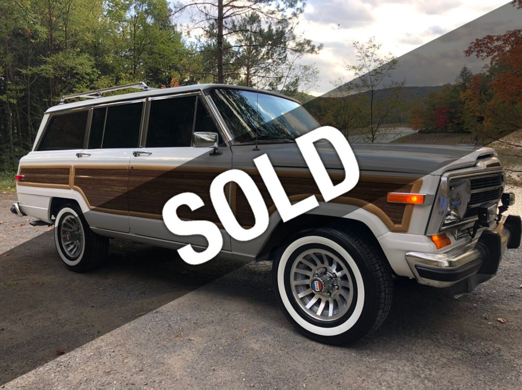 3ipkdse qwdv m https www motorcar com for sale used 1988 jeep grand wagoneer woody wagon johnstown pa 180 5316184 html