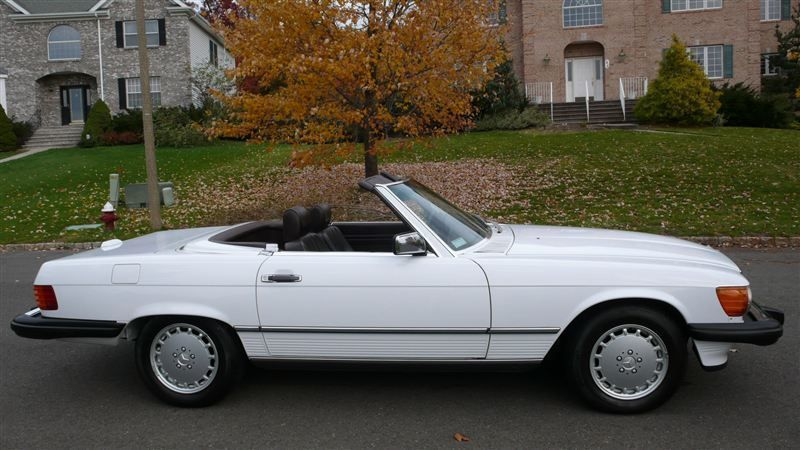 1988 mercedes benz 560 sl convertible for sale in ramsey for Mercedes benz dealer in bronx ny
