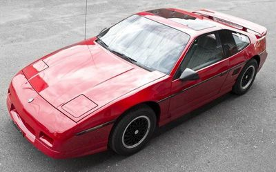 1988 Pontiac Fiero  Coupe