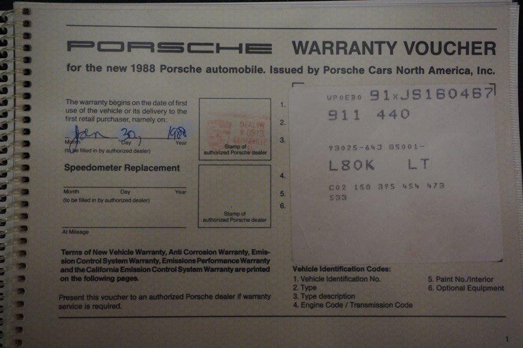 1988 Porsche 911  - 17439987 - 90