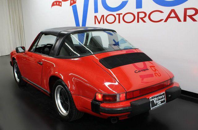 1988 Porsche 911 >> 1988 Used Porsche 911 Carrera Targa At Victory Motorcars Serving