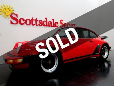 1988 Porsche 930 TURBO -29K MILES * SPORT SEATS, LIMITED SLIP, COLLECTOR GRADE 930