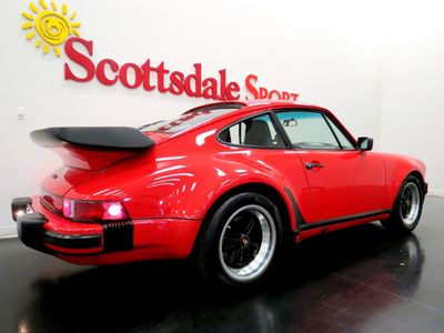 1988 Porsche 930 TURBO -29K MILES * SPORT SEATS, LIMITED SLIP, COLLECTOR GRADE 930  - Click to see full-size photo viewer