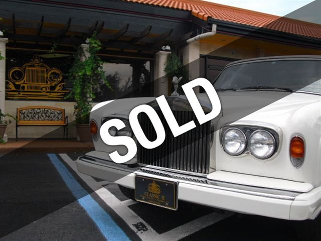 1988 Rolls-Royce Cornich II Base Trim