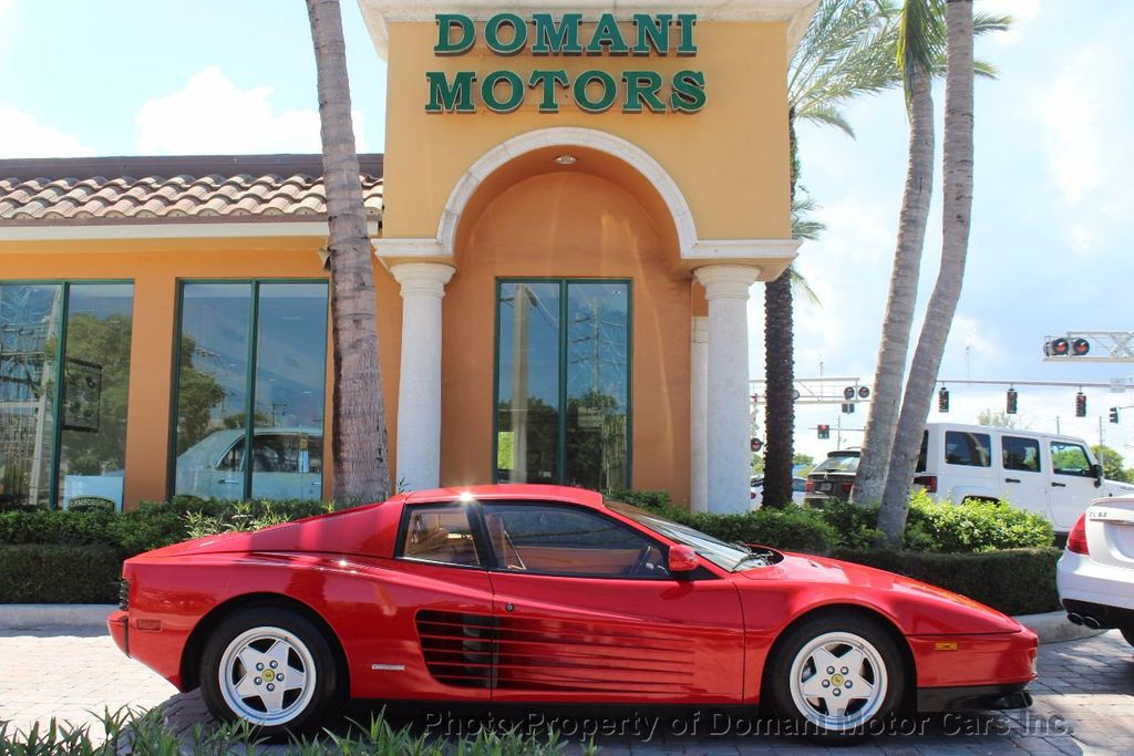 1989 Ferrari Testarossa CAVALLINO PLATINUM AWARD WINNING ONLY 11K MI MAJOR SERVICE DONE - 16713782 - 0