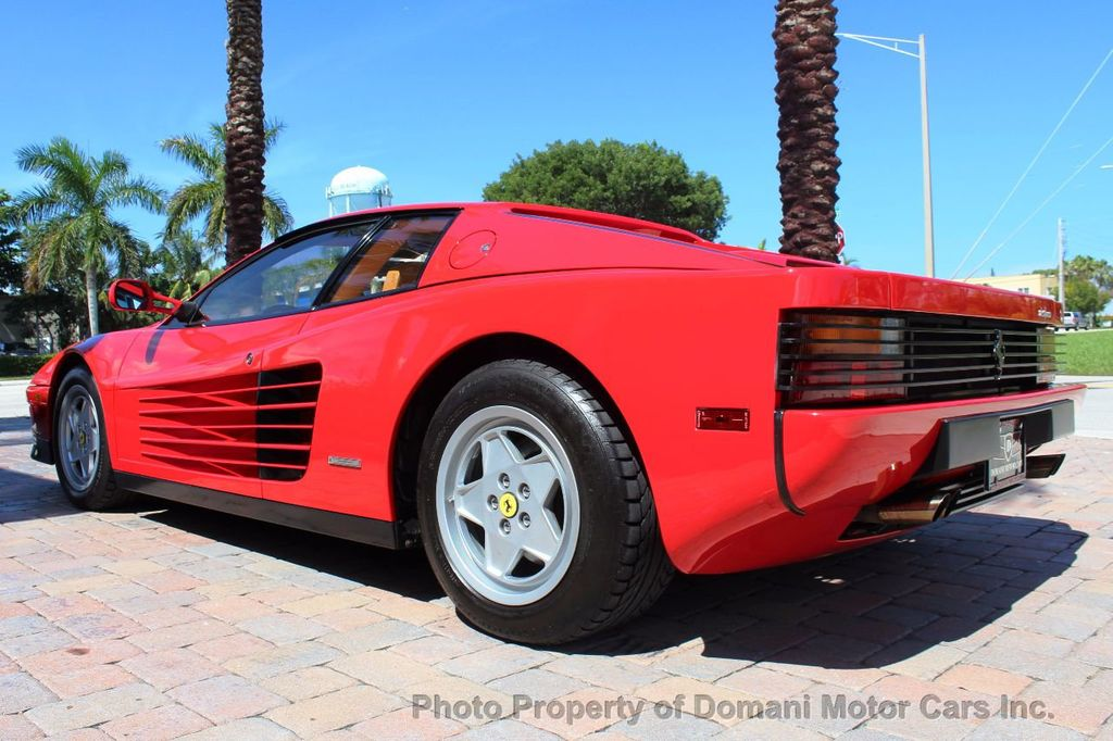 1989 Ferrari Testarossa CAVALLINO PLATINUM AWARD WINNING ONLY 11K MI MAJOR SERVICE DONE - 16713782 - 11