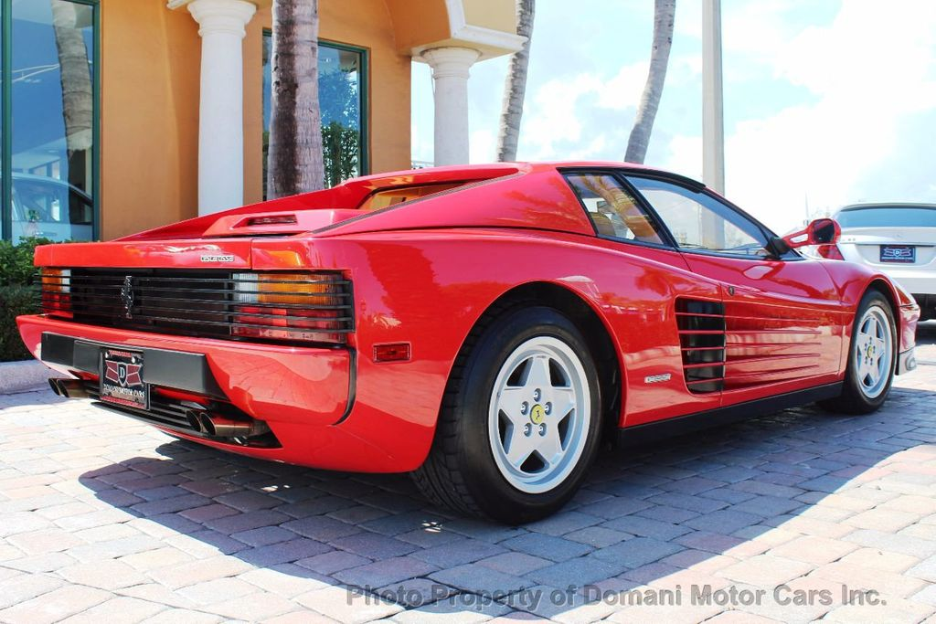 1989 Ferrari Testarossa CAVALLINO PLATINUM AWARD WINNING ONLY 11K MI MAJOR SERVICE DONE - 16713782 - 13