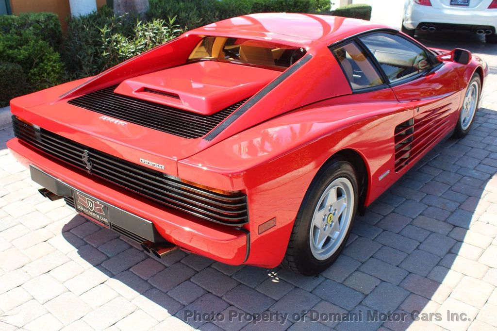 1989 Ferrari Testarossa CAVALLINO PLATINUM AWARD WINNING ONLY 11K MI MAJOR SERVICE DONE - 16713782 - 14