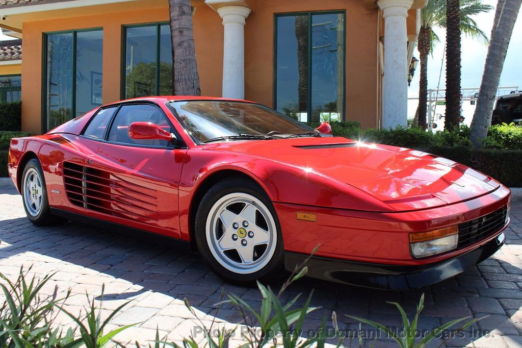 1989 Ferrari Testarossa CAVALLINO PLATINUM AWARD WINNING ONLY 11K MI MAJOR SERVICE DONE - 16713782 - 1