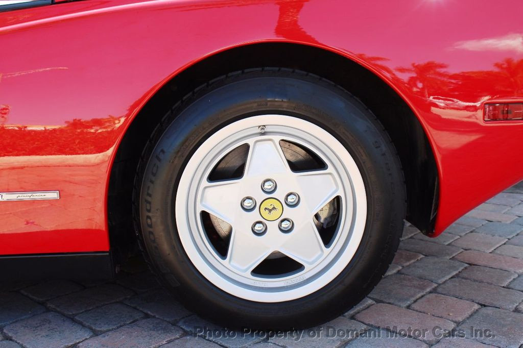 1989 Ferrari Testarossa CAVALLINO PLATINUM AWARD WINNING ONLY 11K MI MAJOR SERVICE DONE - 16713782 - 22