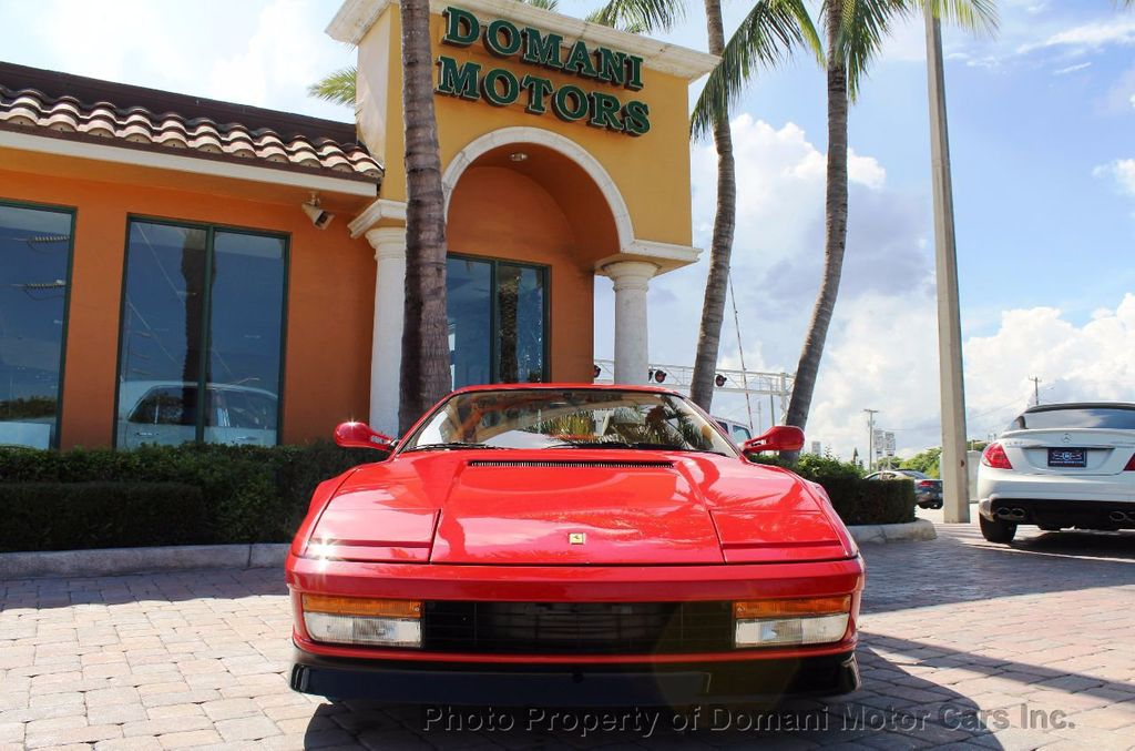 1989 Ferrari Testarossa CAVALLINO PLATINUM AWARD WINNING ONLY 11K MI MAJOR SERVICE DONE - 16713782 - 25