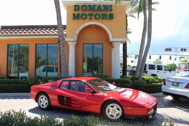 1989 Ferrari Testarossa Cavallino Platinum Award Winning Only 11k Mi