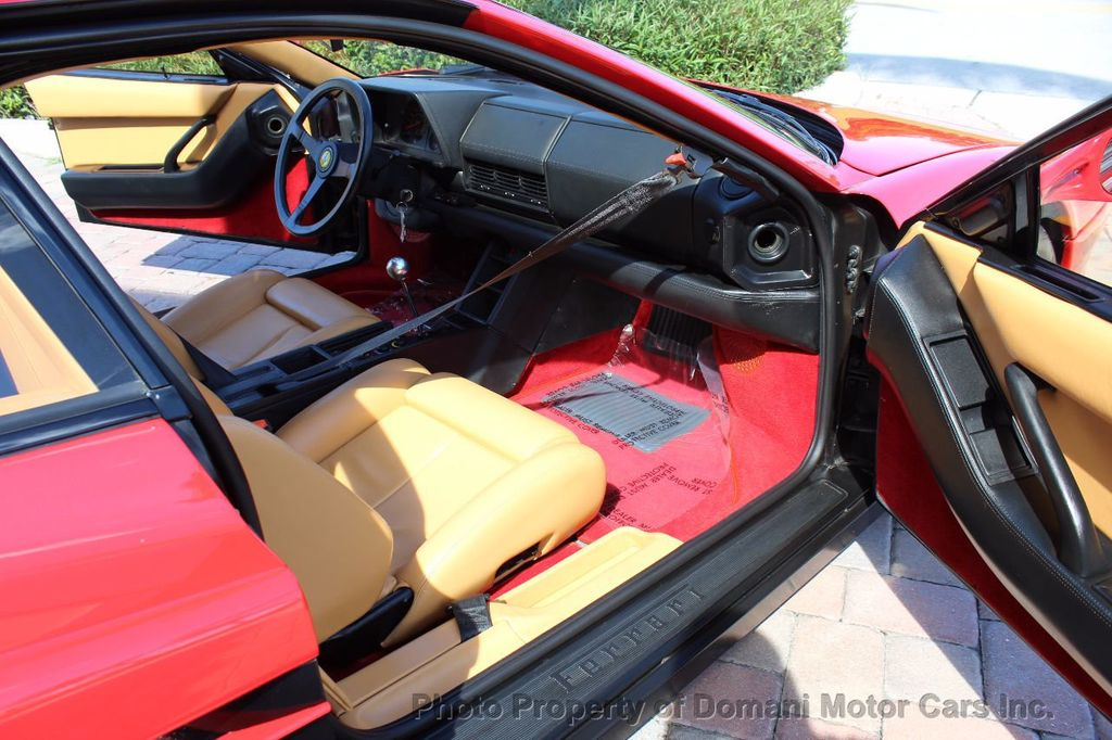 1989 Ferrari Testarossa CAVALLINO PLATINUM AWARD WINNING ONLY 11K MI MAJOR SERVICE DONE - 16713782 - 36