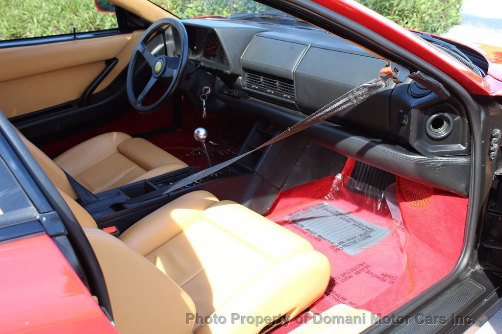 1989 Ferrari Testarossa CAVALLINO PLATINUM AWARD WINNING ONLY 11K MI MAJOR SERVICE DONE - 16713782 - 39