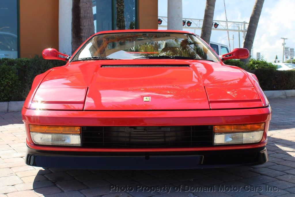 1989 Ferrari Testarossa CAVALLINO PLATINUM AWARD WINNING ONLY 11K MI MAJOR SERVICE DONE - 16713782 - 6