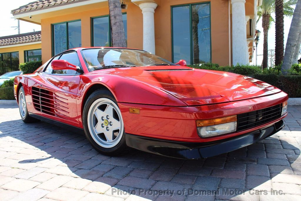1989 Ferrari Testarossa CAVALLINO PLATINUM AWARD WINNING ONLY 11K MI MAJOR SERVICE DONE - 16713782 - 7