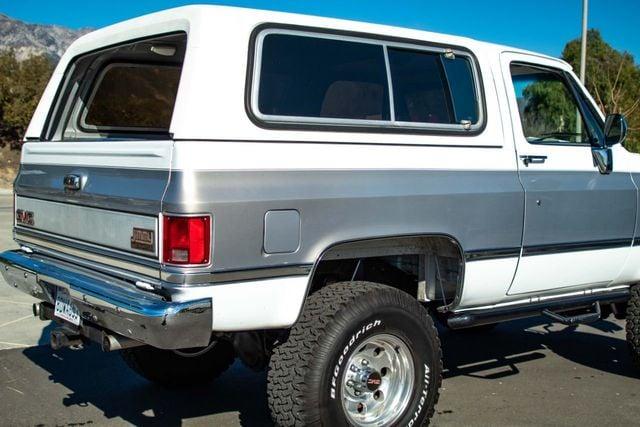 1989 GMC Jimmy V15 4WD - 18466943 - 27