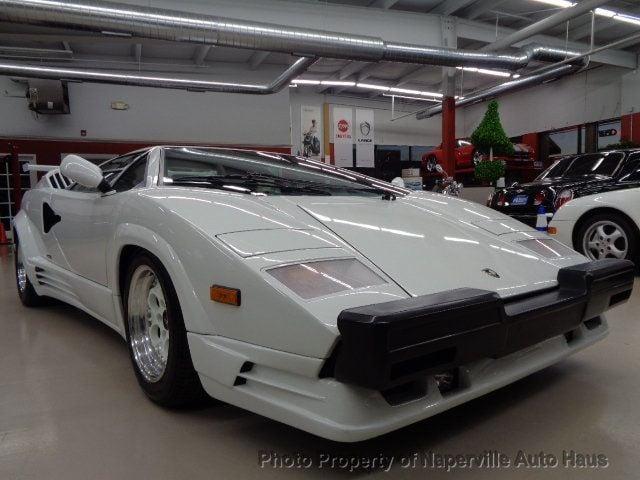 1989 Lamborghini Countach 25th Anniversary Edition Coupe For Sale