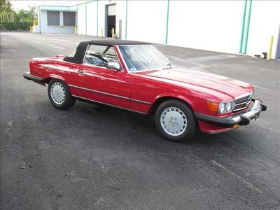 1989 Mercedes-Benz 560 Series 560 Series 2dr Coupe 560SL Roadster Hatchback