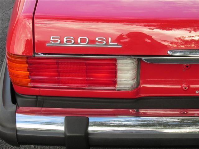 1989 Mercedes-Benz 560 Series