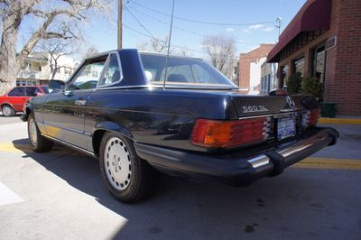 1989 Mercedes-Benz 560 Series 560 Series 2dr Coupe 560SL Roadster - Click to see full-size photo viewer
