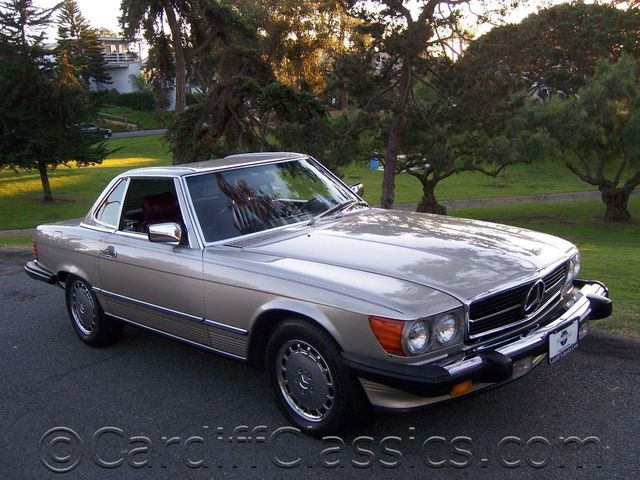 1989 used mercedes benz 560 series roadster at cardiff for Mercedes benz san diego county