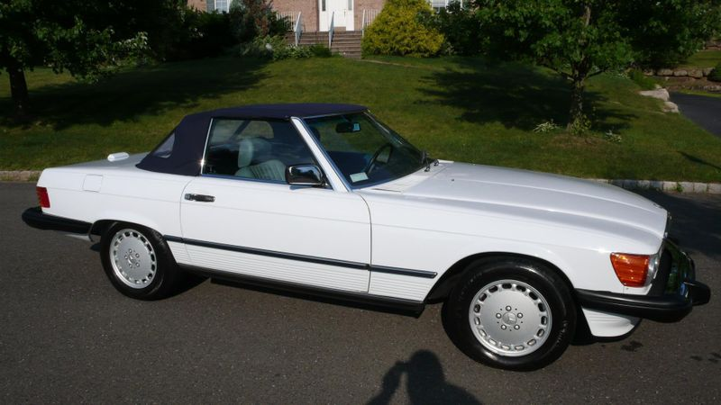 1989 Mercedes-Benz 560 Series SL - 10737841 - 1