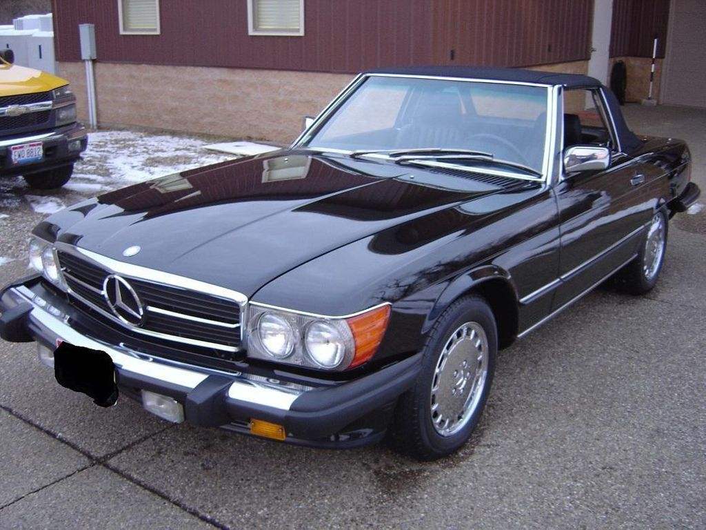1989 Mercedes-Benz 560 Series SL - 11614492 - 0