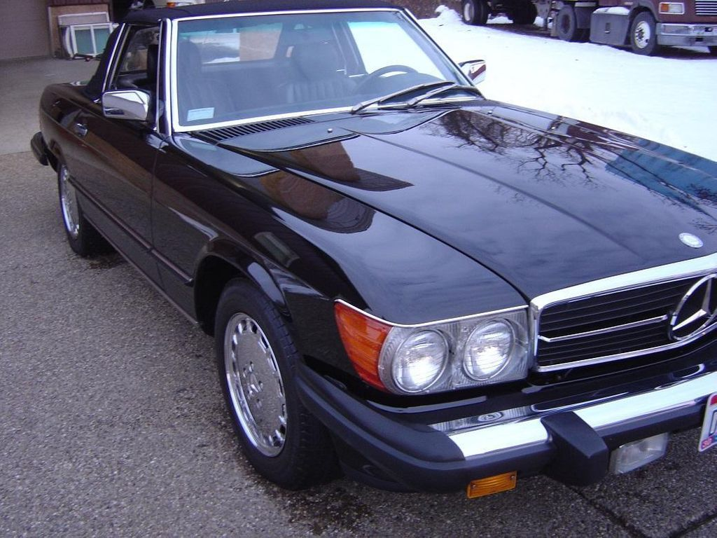 1989 Mercedes-Benz 560 Series SL - 11614492 - 12