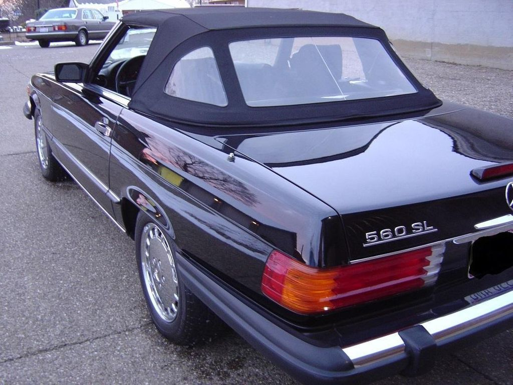 1989 Mercedes-Benz 560 Series SL - 11614492 - 5
