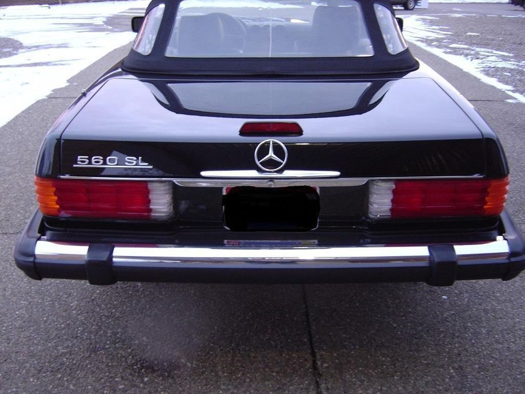 1989 Mercedes-Benz 560 Series SL - 11614492 - 6