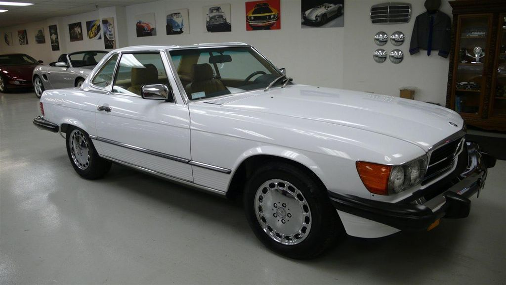 1989 Mercedes-Benz 560 Series SL - 11801471 - 0