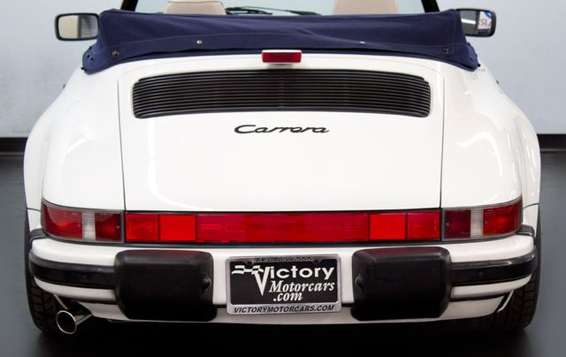1989 Porsche 911 Carrera  - Click to see full-size photo viewer