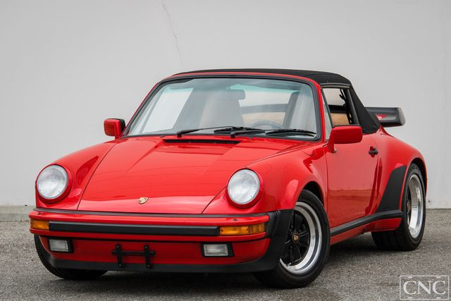1989 Porsche 911 Turbo Convertible