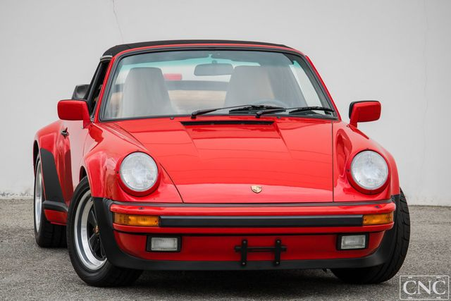 1989 Porsche 911 Turbo Convertible  - Click to see full-size photo viewer
