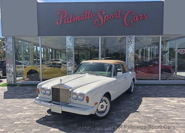 Used Rolls Royce For Sale >> Used Rolls Royce Corniche At Palmetto Sport Cars Serving Miami Fl