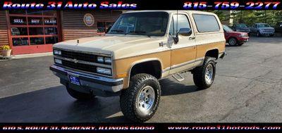 1990 Chevrolet Blazer V1500 4WD SUV