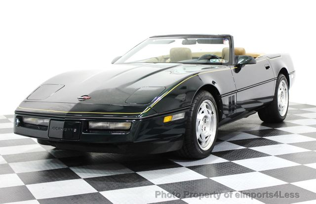 1990 Chevrolet Corvette Convertible With Factory Hardtop