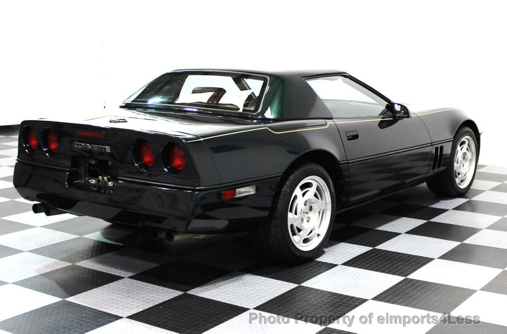 1990 used chevrolet corvette corvette convertible with factory