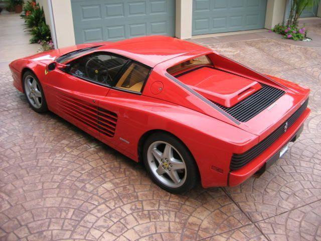 1990 Used Ferrari Testarossa At Sports Car Company Inc Serving La