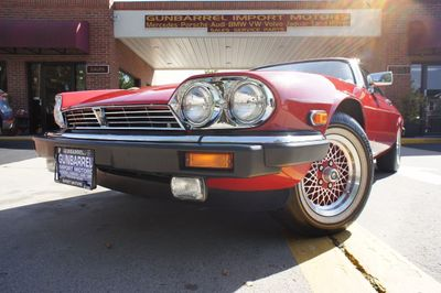 1990 Jaguar XJS 2dr Coupe Rouge