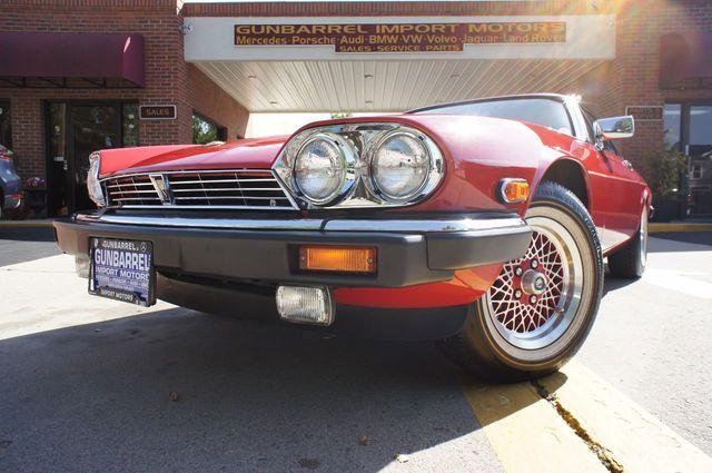 1990 Jaguar XJS 2dr Coupe Rouge